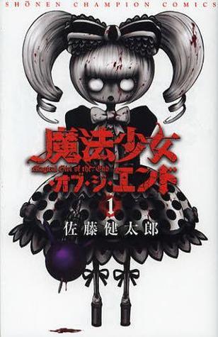 Kentarou Satou, Mahou Shoujo of the End, Zombies, Mahou Shoujo, Black and White, Dotted Skirt, Bow, Twintails,