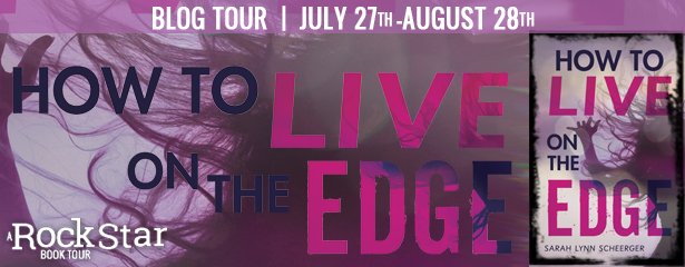 Cancer, Surgery, Contemporary, How to Live on the Edge, Sarah Lynn Scheerger, Shadow, Hair, Purple Font,