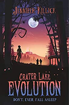 Crater Lake, Crater Lake Evolution, Orange, Purple, Moon, Forest, Mystery, Children's Books, Adventure, Jennifer Killick